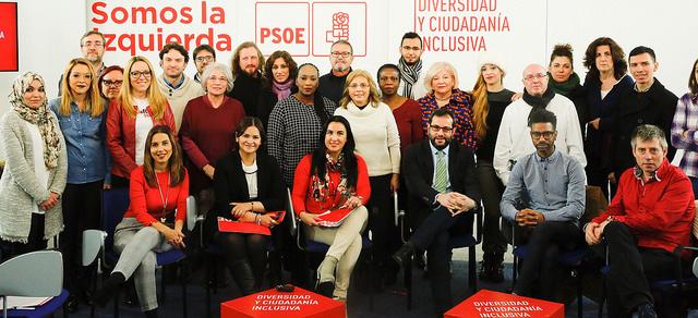 El PSOE crea una Delegación Federal de Diversidad y Ciudadanía Inclusiva